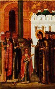 17 Исцеление девицы от нечистого духа.