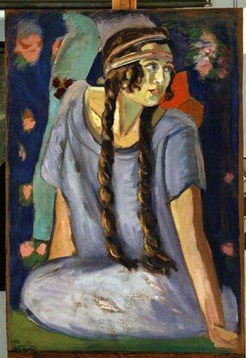 Михаил Станюта. Портрет дочери 1923