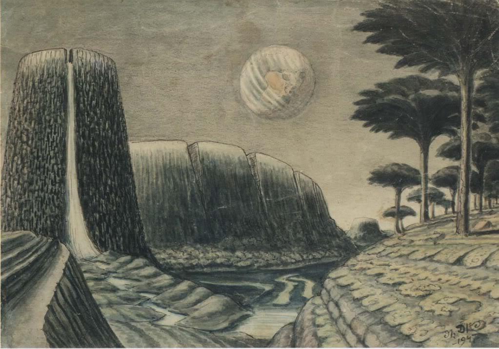 Природа Луны (1947)