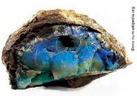 Австралийский сине-зелёный опал