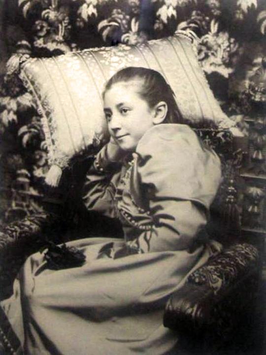 Портрет дочери Элизабеты Марии Тышкевич