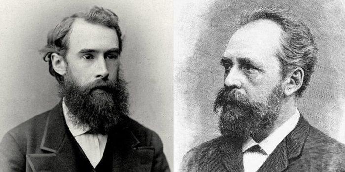 Братья Третьяковы. Павел (слева) и Сергей (справа)