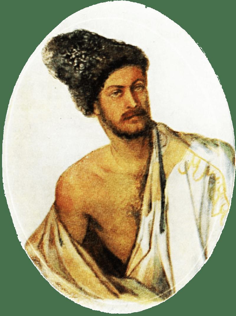 А. А. Столыпин в костюме курда