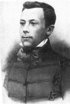 Владислав Сырокомля в молодости, снимок XIX века