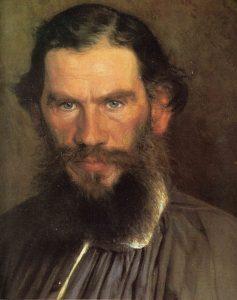 Крамской И.Н.. Портрет писателя Льва Николаевича Толстого