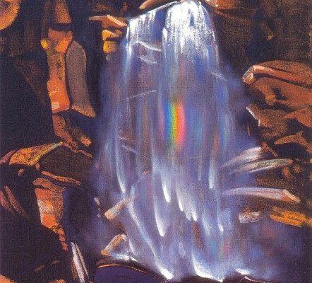 Святослав Рерих. Радуга водопада.1934 г.