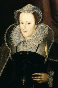 Портрет Марии Стюарт. Неизвестный художник. 1578 г.