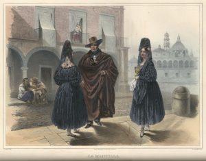 Мантилья.Карл Небель. 1836 г.